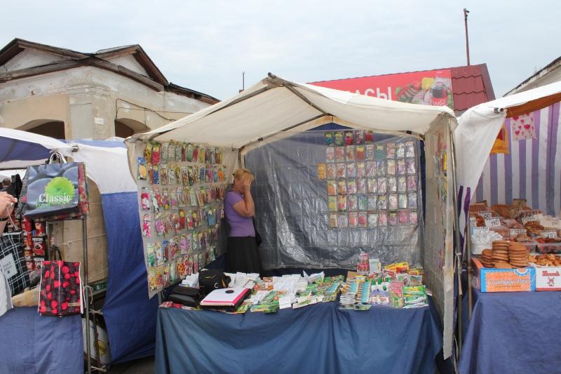 Центральный рынок в Тамбове изнутри