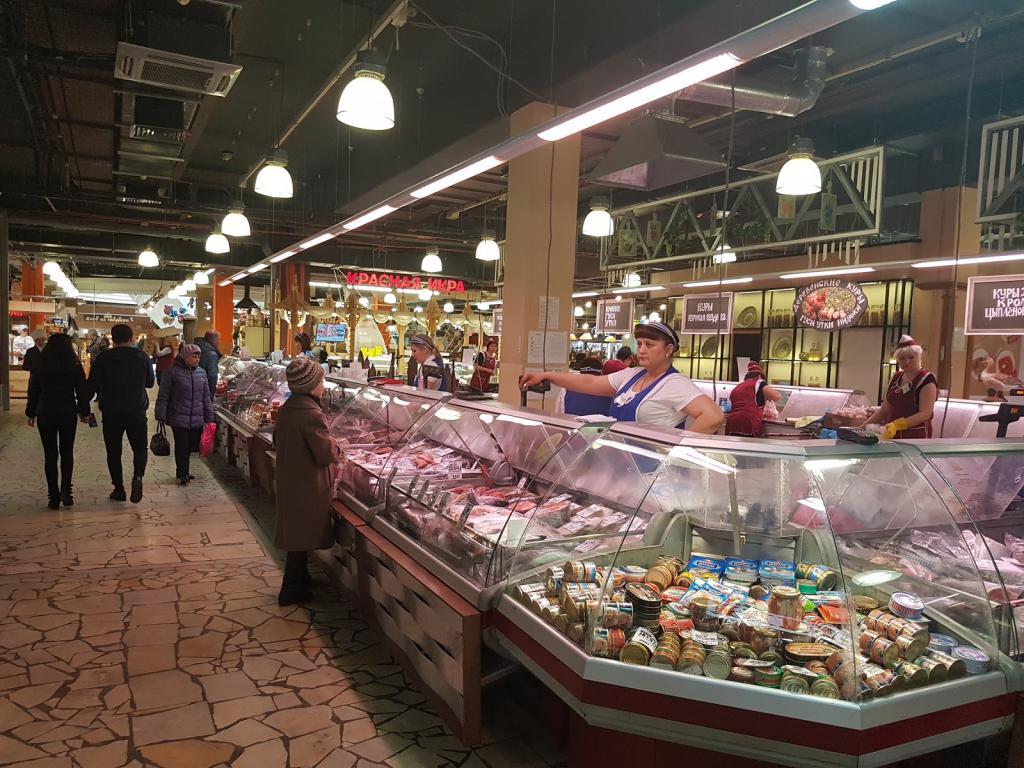 Центральный рынок в Уфе изнутри