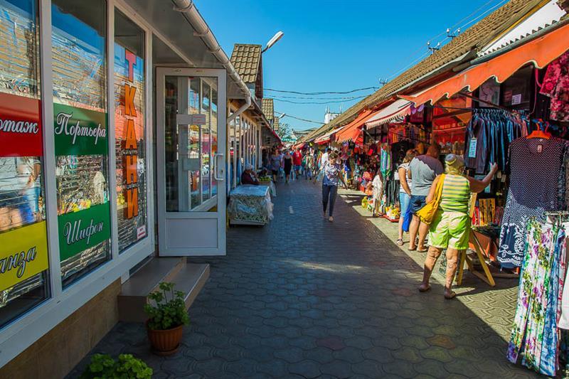 Центральный рынок в Анапе внутри