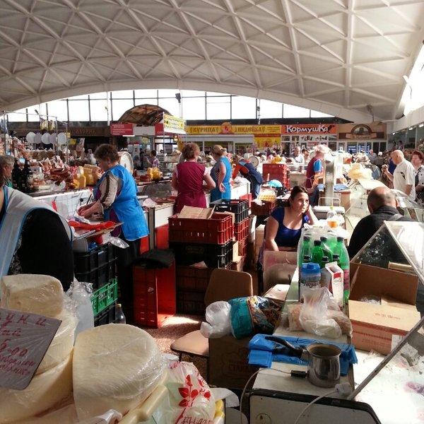 Центральный рынок в Иваново внутри