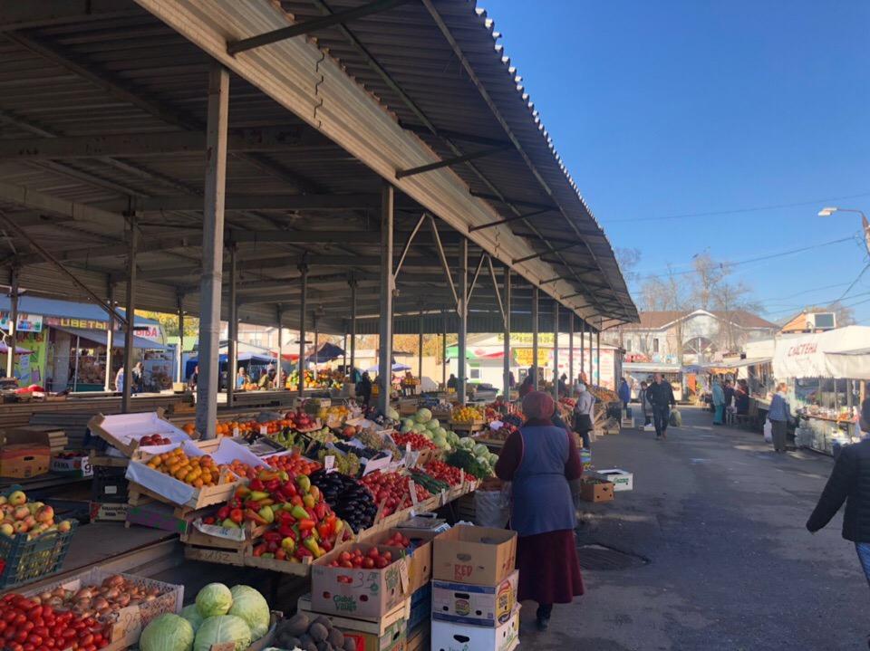 Центральный рынок в Туле внутри