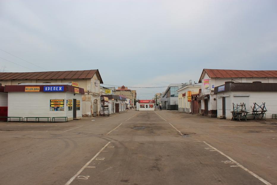 Центральный рынок в Тамбове